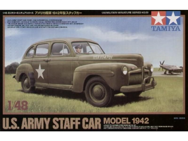 """Ford """"Fordor"""" US Army Staff car model 1942 (1.72 ACE) Tam32510"""