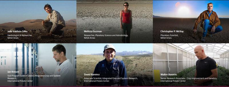 [Mars] Une équipe péruvienne tente de faire pousser des patates sous conditions martiennes Potato10