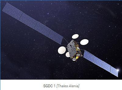 Ariane 5 VA236 (SGDC & Koreasat 7) - 04.05.2017 Satell10