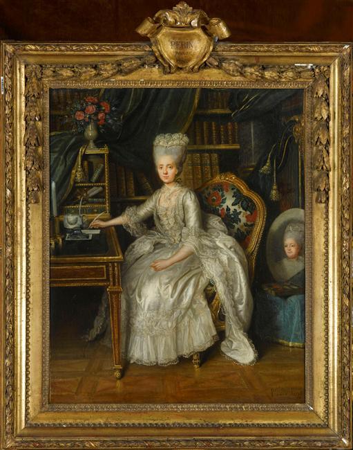 Lié-Louis Périn-Salbreux : Portrait de Marie-Antoinette ou de Madame Sophie ? 06-52510