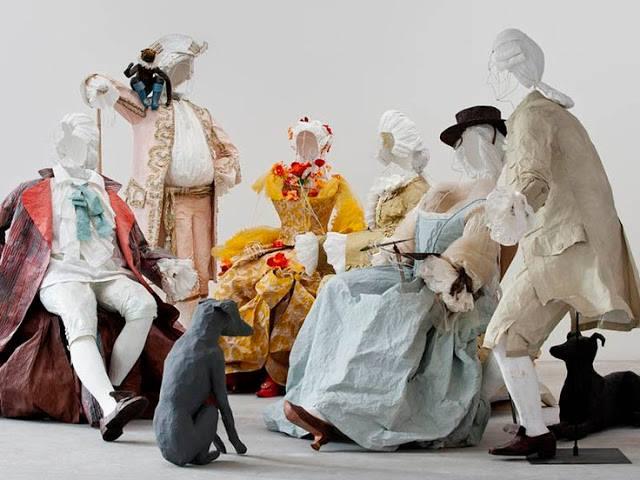 Les costumes de papier d'Isabelle de Borchgrave 16708510