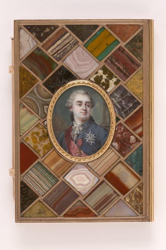Portraits de Marie-Antoinette sur les boites et tabatières 17155110