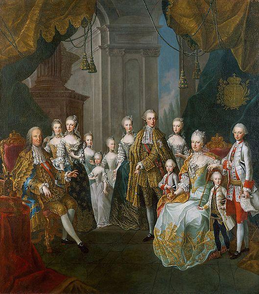 Portraits de Marie-Antoinette, enfant et jeune archiduchesse - Page 4 17861910