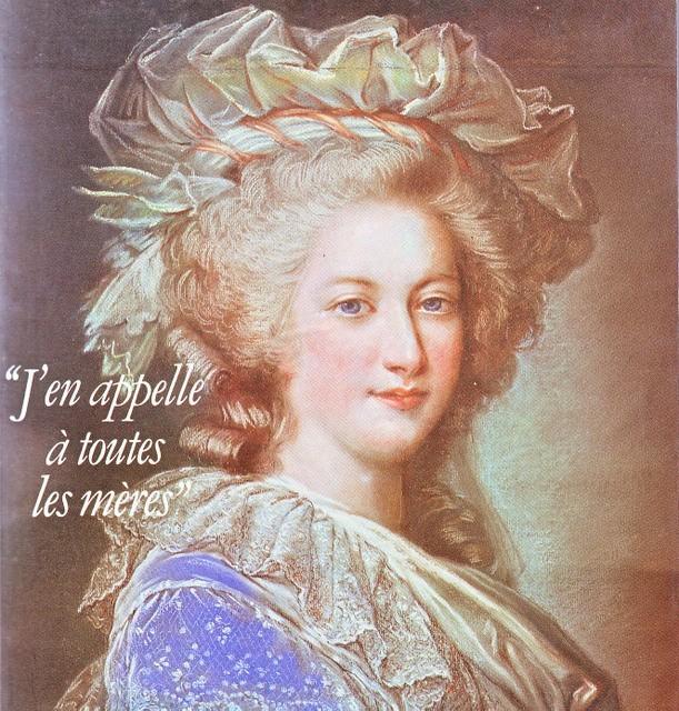Premier portrait officiel de Marie-Antoinette par Mme Vigée-Lebrun (1778) 1erpor10