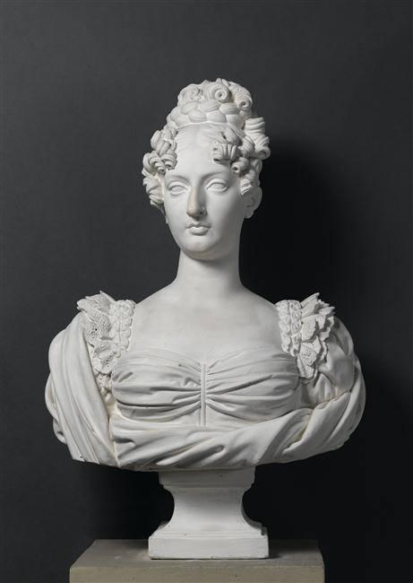 Marie-Thérèse Charlotte, dite Madame Royale, duchesse d'Angoulême Buste_10
