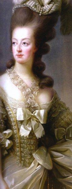 Lié-Louis Périn-Salbreux : Portrait de Marie-Antoinette ou de Madame Sophie ? Dentel10