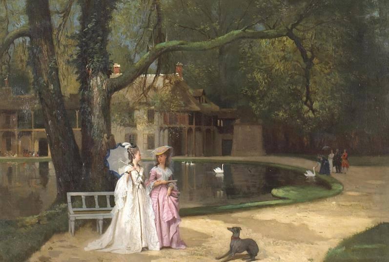 Portraits de la reine Marie-Antoinette à Trianon  La_pro10