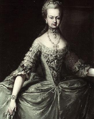 Josèphe - Portrait de Marie-Antoinette ou de Marie-Josèphe, par Meytens ? Maria_12