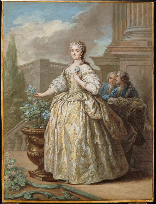La reine Marie Leszczynska Marie_19