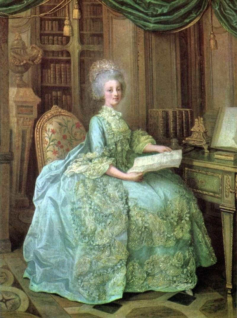Lié-Louis Périn-Salbreux : Portrait de Marie-Antoinette ou de Madame Sophie ? Marie_20