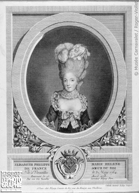 Madame Élisabeth, sœur  de Louis XVI - Page 2 Mme_el10