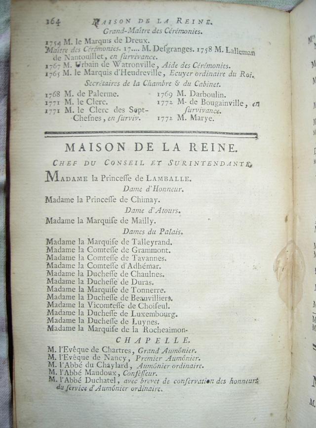Maison et dames du Palais de la reine Marie-Antoinette - Page 2 Pict4210