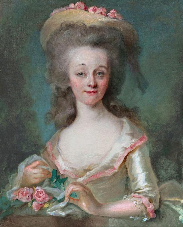 Louise d'Esparbès de Lussan, comtesse de Polastron Portra14