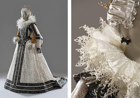 Les costumes de papier d'Isabelle de Borchgrave Rpapie10