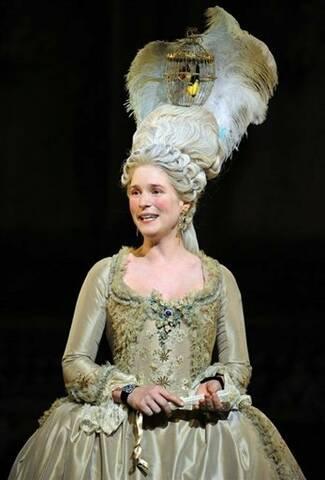 C'était Marie Antoinette avec Natacha Régnier