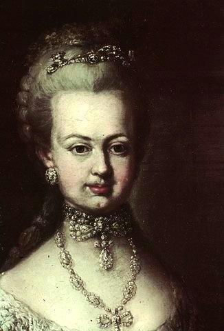Josèphe - Portrait de Marie-Antoinette ou de Marie-Josèphe, par Meytens ? Zi147012