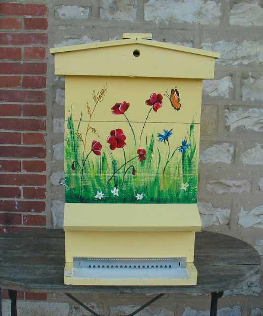 Mes ruches pour les abeilles  Aa13