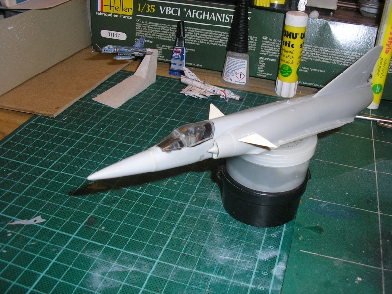 Dassault Mirage III E-X N-G // - [Heller  1/72] P1010024