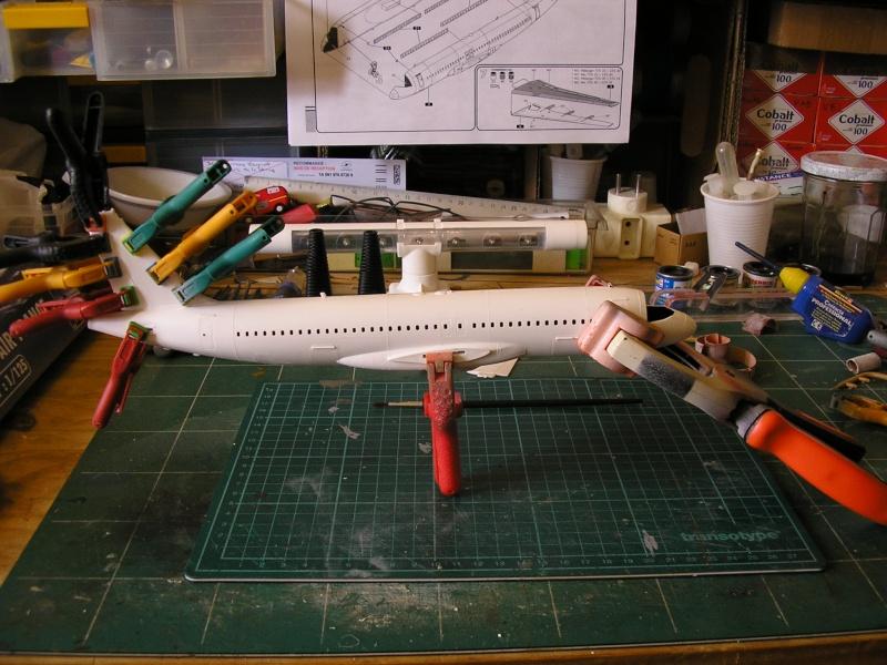 AIRBUS A 320-211 Cie AIR FANCE 1/125ème Réf 80448 P1010091
