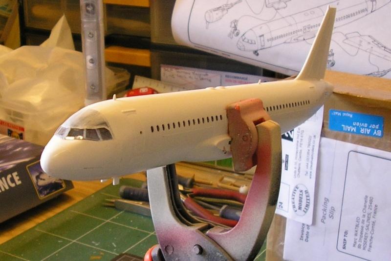 AIRBUS A 320-211 Cie AIR FANCE 1/125ème Réf 80448 P1010106