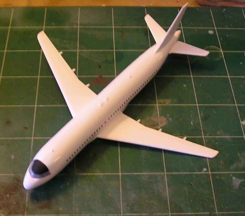 AIRBUS A 320-211 Cie AIR FANCE 1/125ème Réf 80448 P1010111