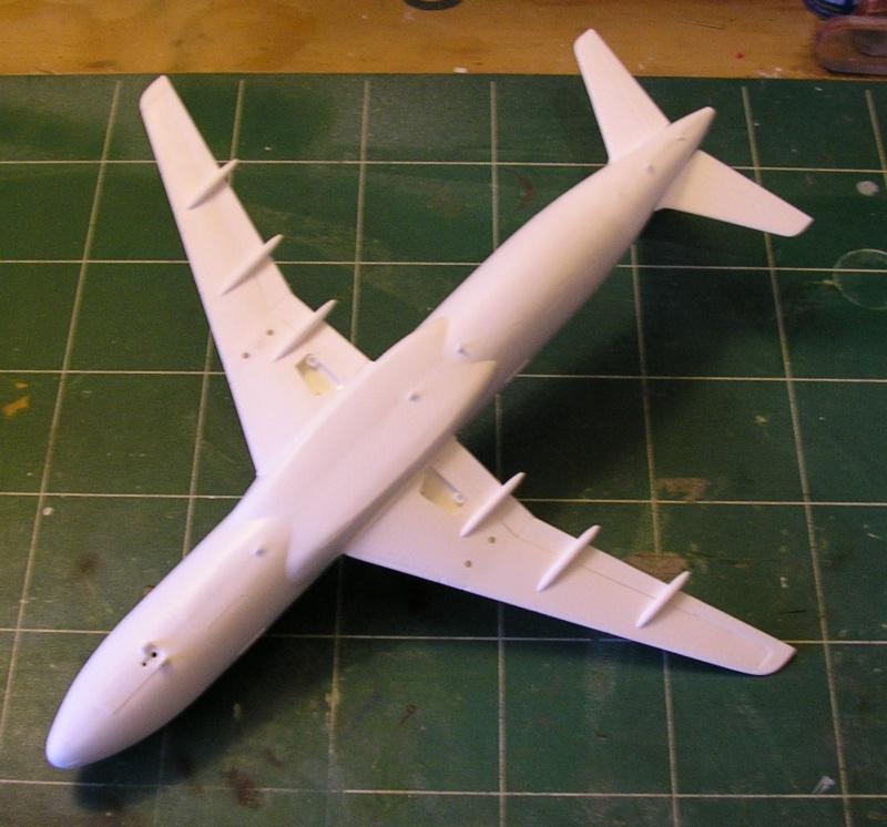 AIRBUS A 320-211 Cie AIR FANCE 1/125ème Réf 80448 P1010112