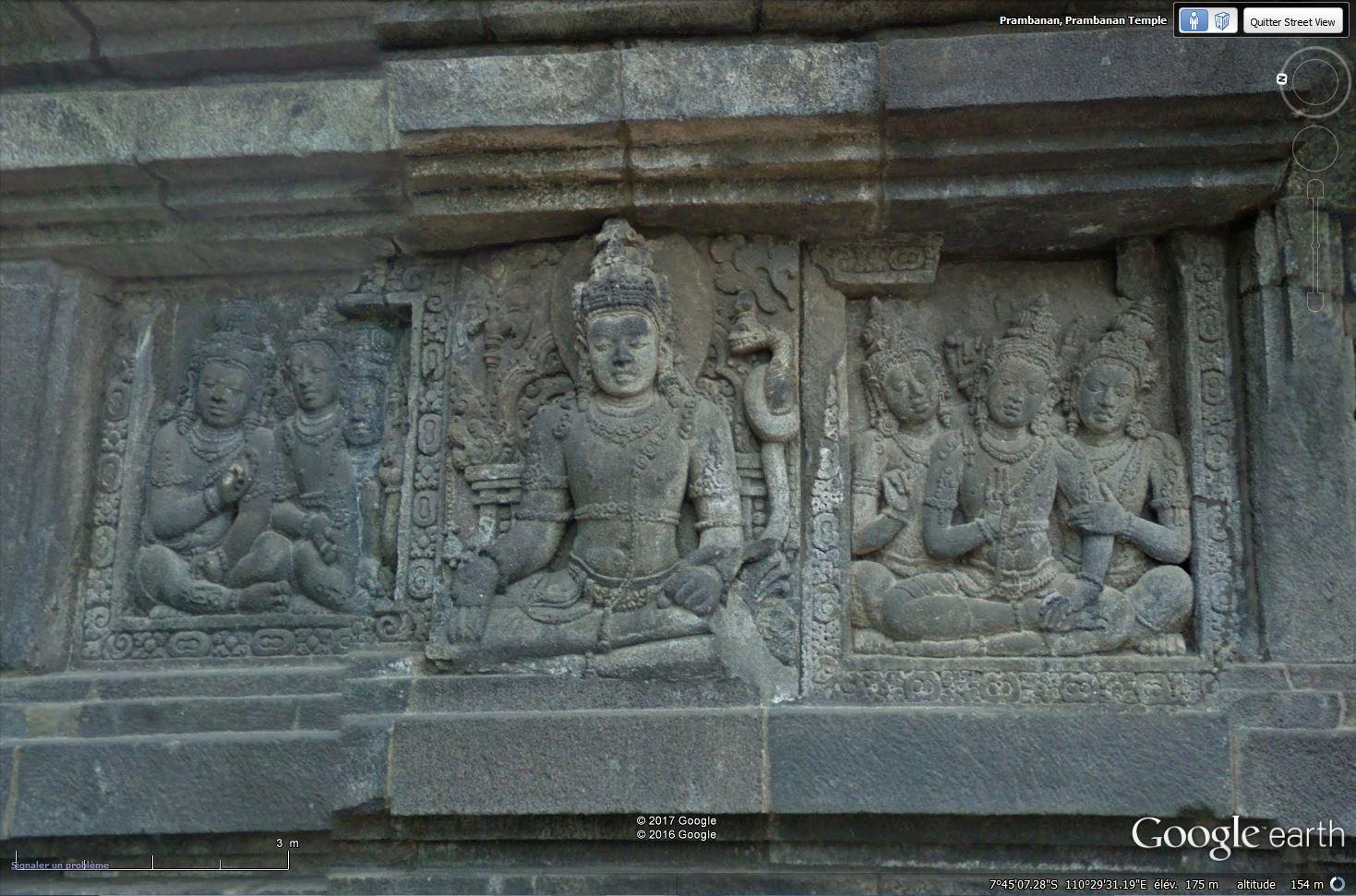 L'ensemble de Prambanan, Kalasan, Yogyakarta, Indonesie Tsge_100