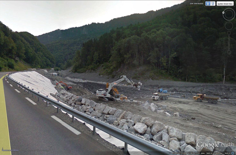 La route des Gorges de l'Arly (Savoie), route la plus chère de France Tsge_121
