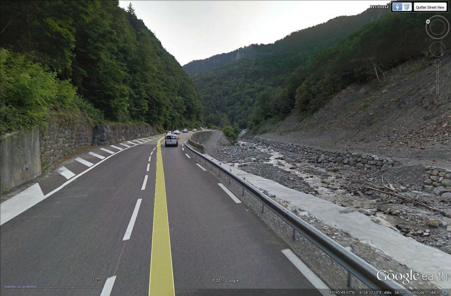La route des Gorges de l'Arly (Savoie), route la plus chère de France Tsge_122