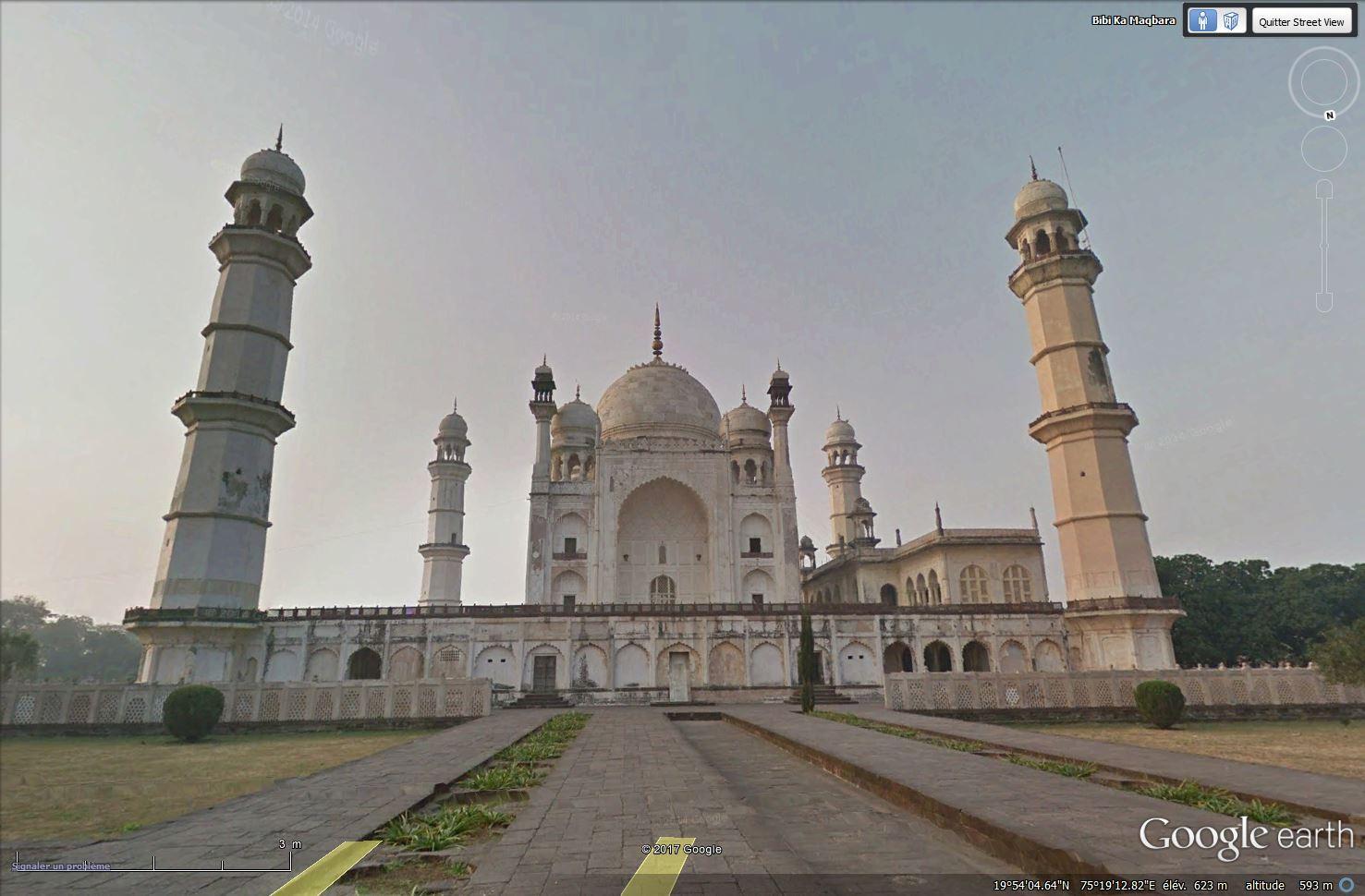 Bibi Ka Maqbara, l'autre Taj Mahal - Aurangabad - Inde Tsge_143