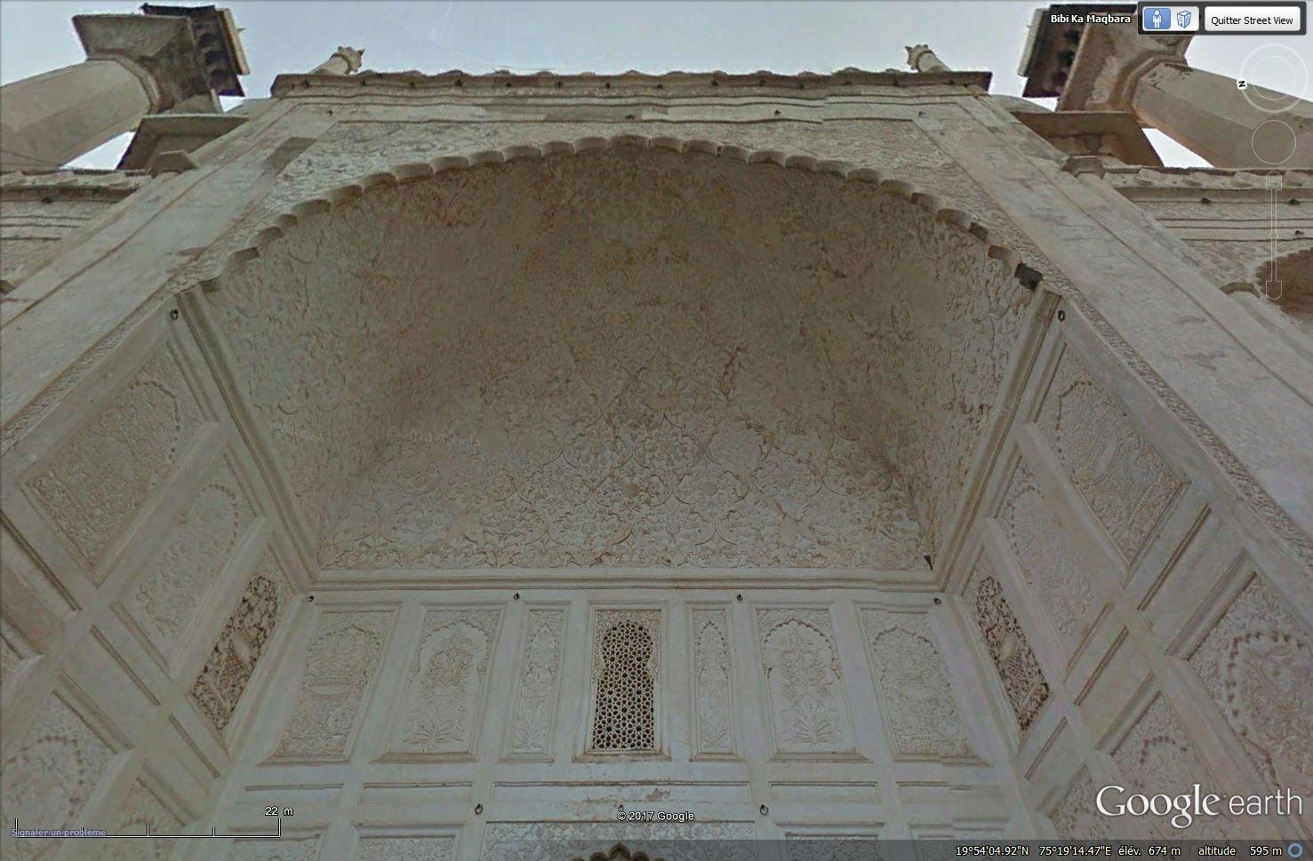 Bibi Ka Maqbara, l'autre Taj Mahal - Aurangabad - Inde Tsge_144