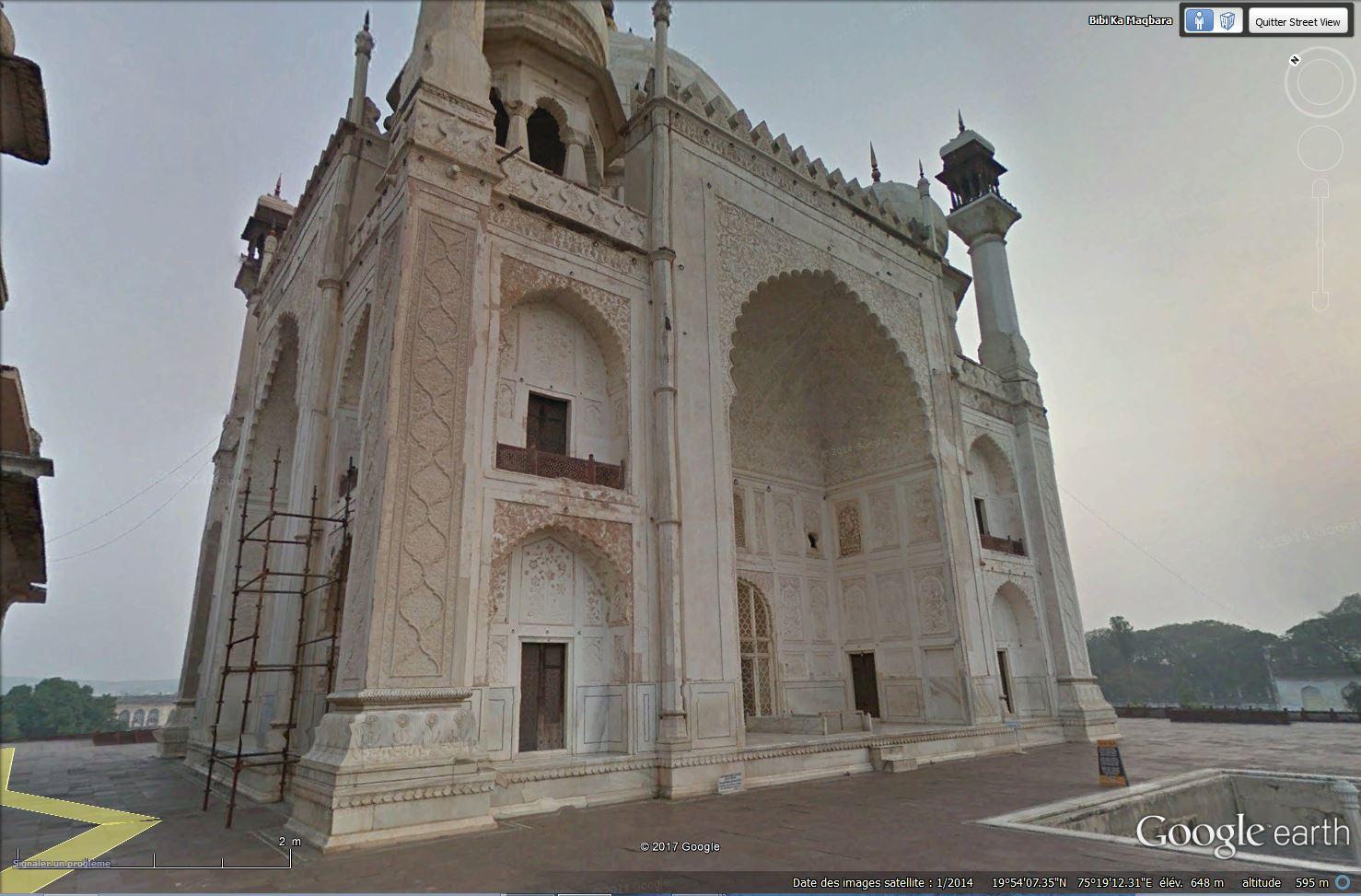 Bibi Ka Maqbara, l'autre Taj Mahal - Aurangabad - Inde Tsge_145