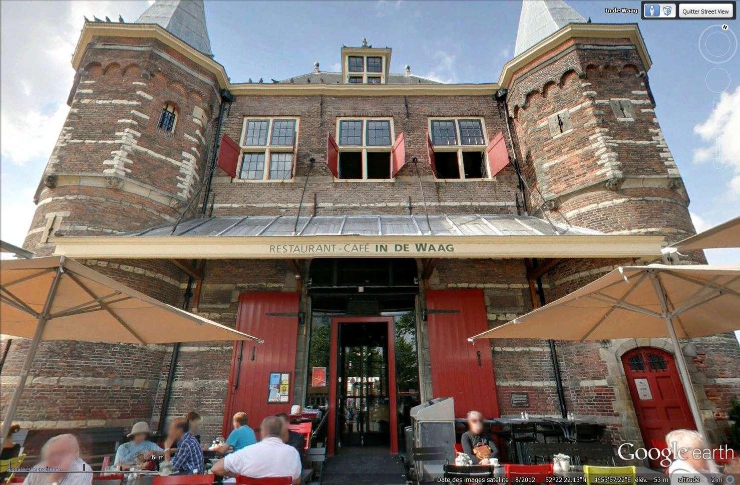 De Waag, Nieuwmarkt à Amsterdam, aux Pays-Bas. Tsge_239