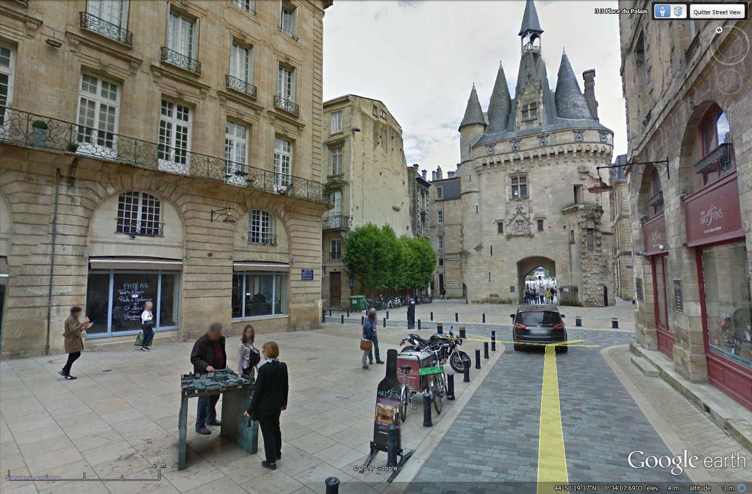 Plan en relief (3D) ou maquette tactile à Bordeaux - France Tsge_248