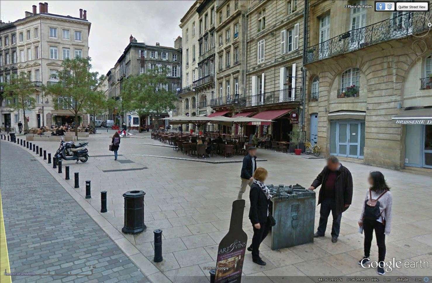 Plan en relief (3D) ou maquette tactile à Bordeaux - France Tsge_249