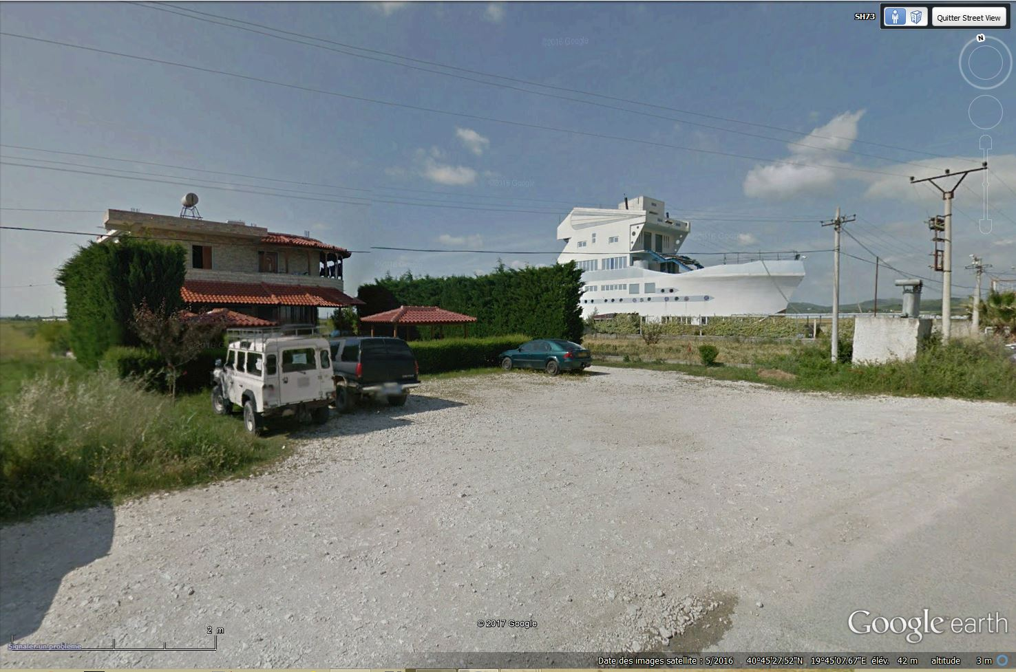 La  maison-bateau - Strumë - Albanie Tsge_254