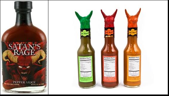 Salsa Delicadeza caliente del DIABLO ! Hot10