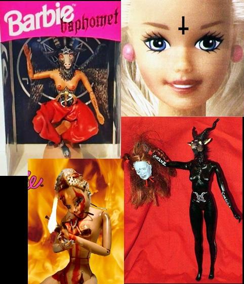 LA MUÑECA BARBIE MKULTRA (Ahora es Baphomet) Pink12