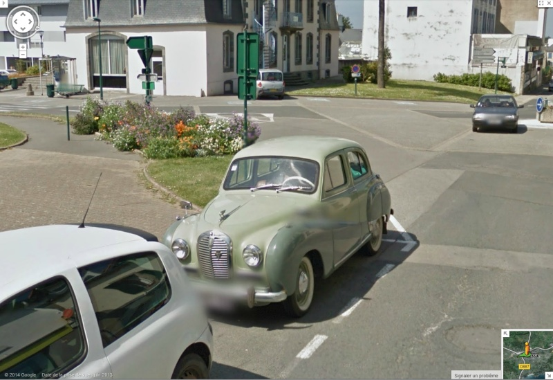 STREET VIEW : belles voitures (France) - Page 8 Austin10