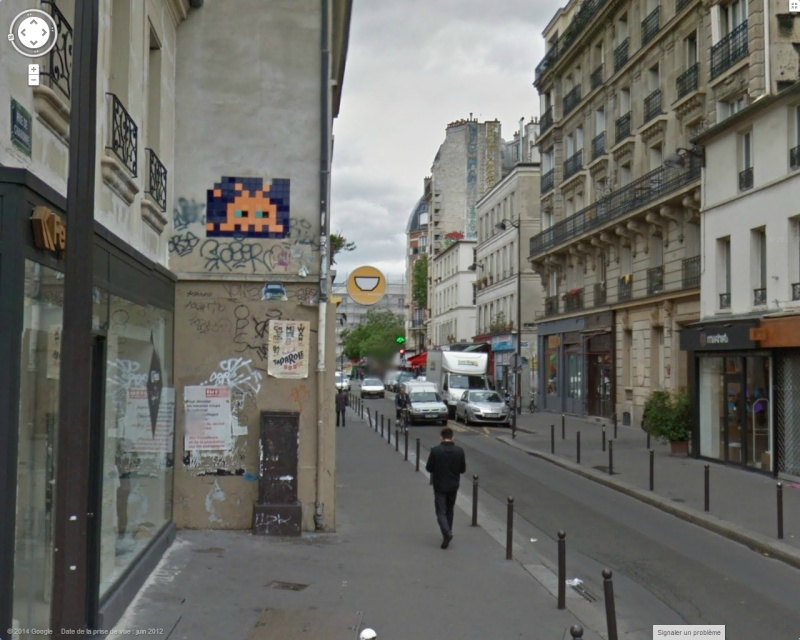 STREET VIEW : l'invasion des Spaces Invaders - Page 3 Space10