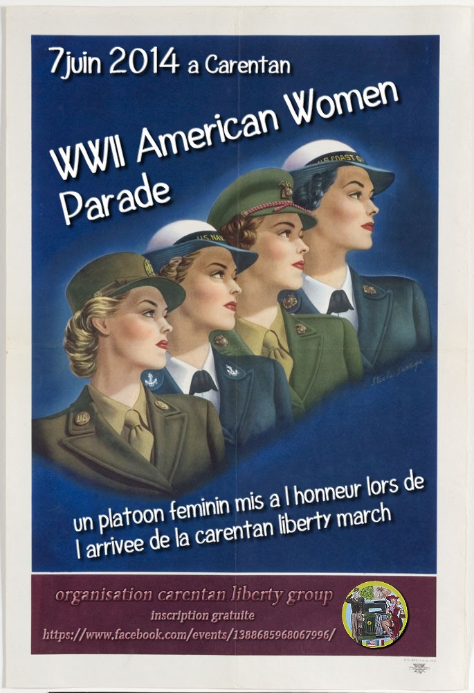 WWII American Women Parade Woomen10