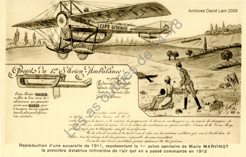 Aviation : les 1ères escadrilles et grands pilotes Marie_10
