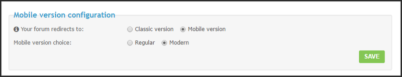 ModernBB: A new forum version for Forumotion forums 07-03-12