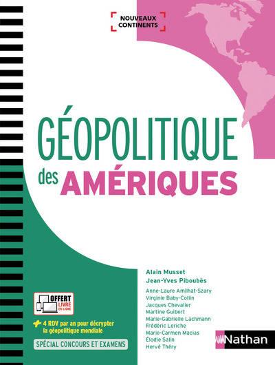 Géopolitique des Amériques: en couverture 00482310