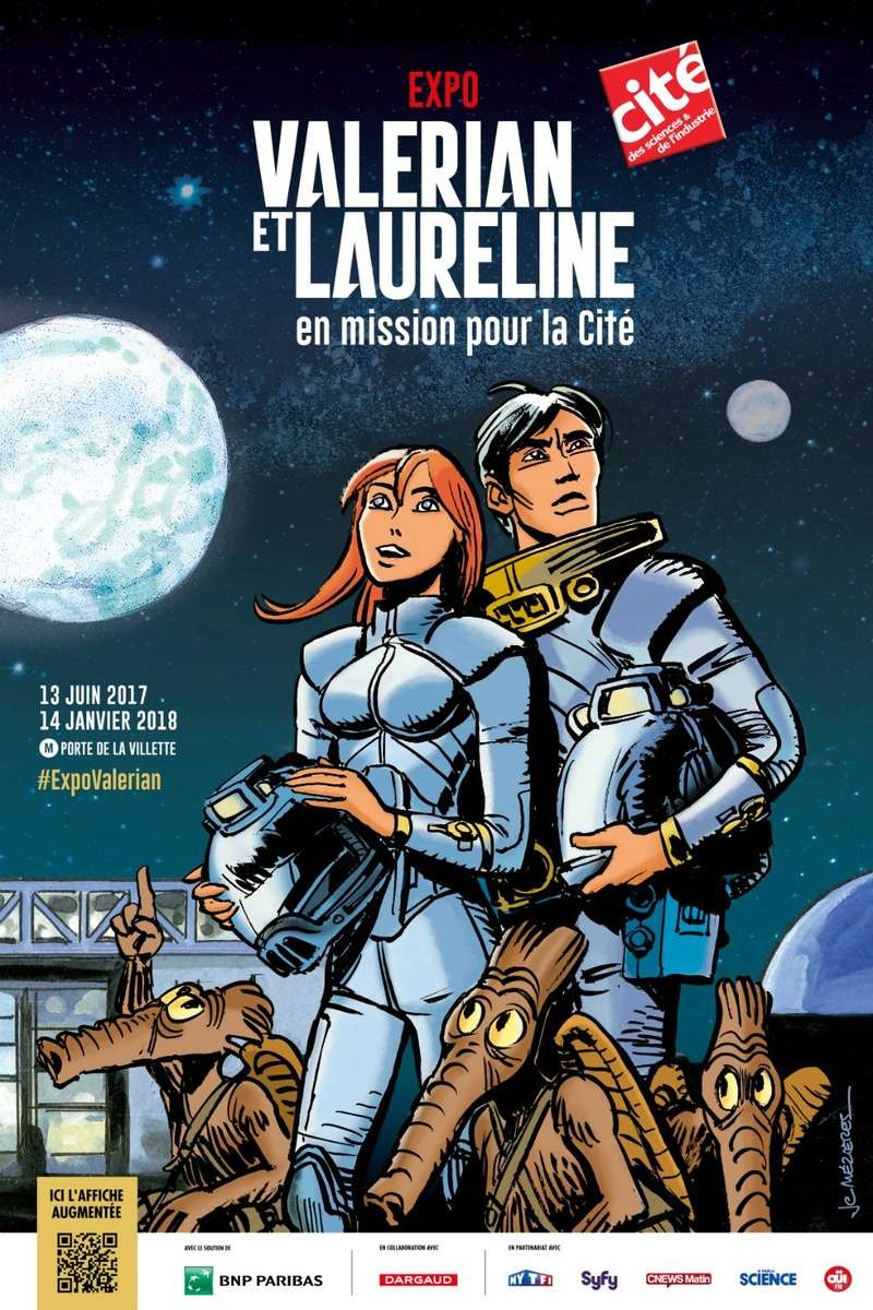Valérian et Laureline en mission pour la Cité Affich10