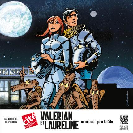 Valérian et Laureline en mission pour la Cité: en couverture Valeri10