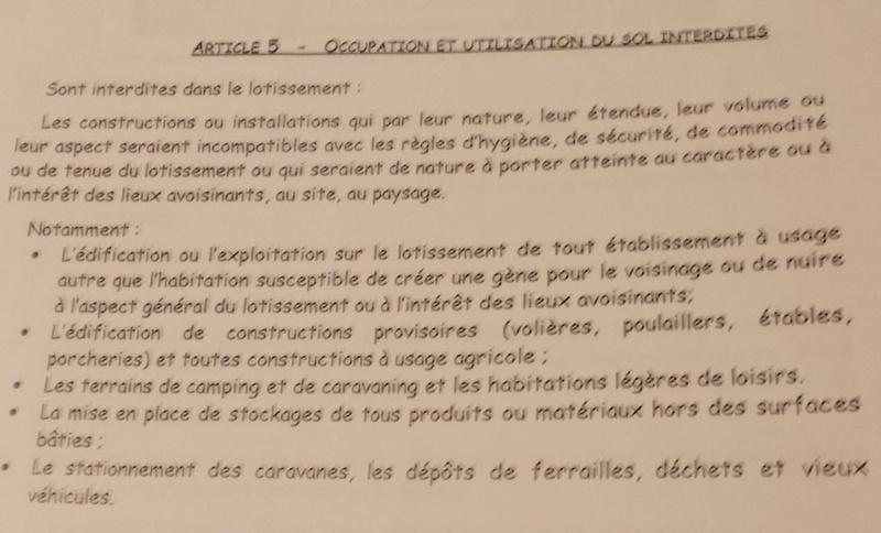 La reglementation autour du poulailler, legislation Aaaaaa10
