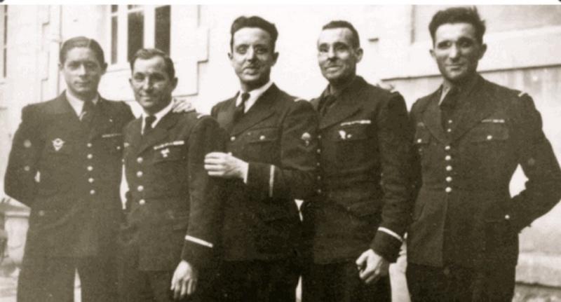 Henri CASTEL : AVIATEURS et avions abattus sur LE QUESNEL (guerre 39 - 45) Castel10