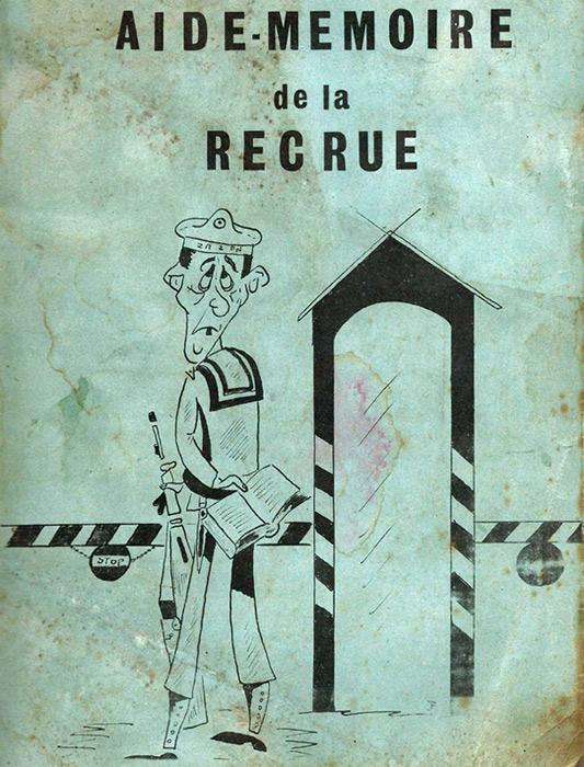 Aide-mémoire de la Recrue (anno 1969) 19005110