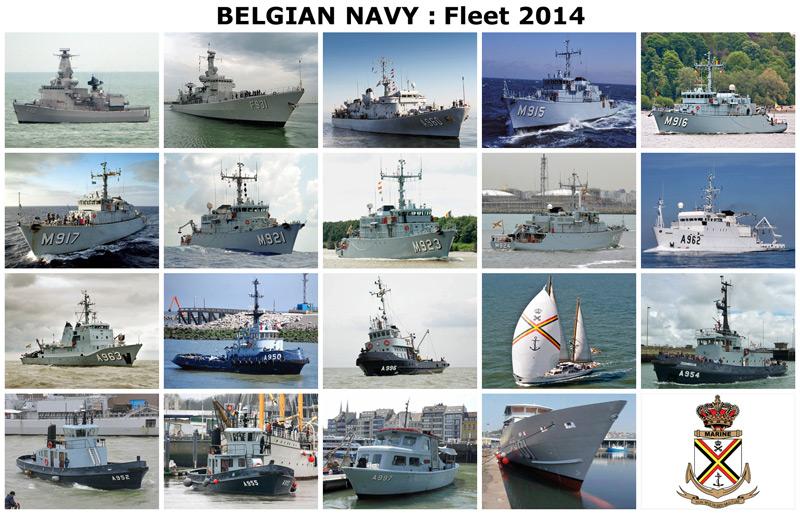 Vloot Belgische Marine 2014 - Flotte Marine belge 2014 Belgia10